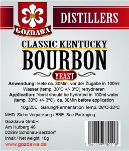 Classical Kentucky Bourbon Hefe 10g