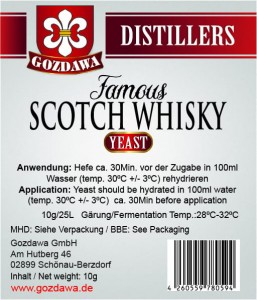 Famous Scotch Whisky Hefe 10g