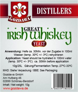 Great Irish Whiskey Hefe 10g