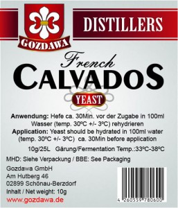 French Calvados Hefe 10g