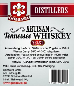 Artisan Tennessee Whiskey Hefe 10g