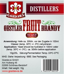 Obstler Fruit Brandy Hefe 10g