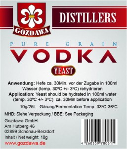 Pure Grain Vodka Hefe 10g